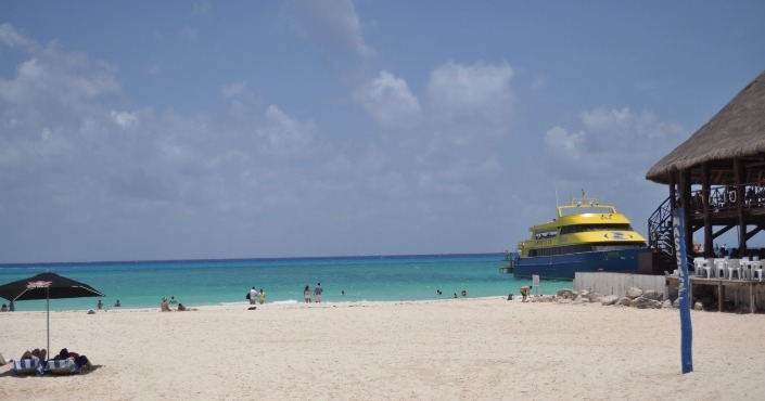RT Ferry Tickets from Cancun Hotel Zone to Isla Mujeres