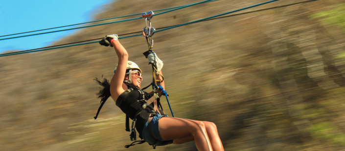 Outdoor Zip Line Adventure in Cabos