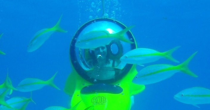 BOB Submarine Cancun