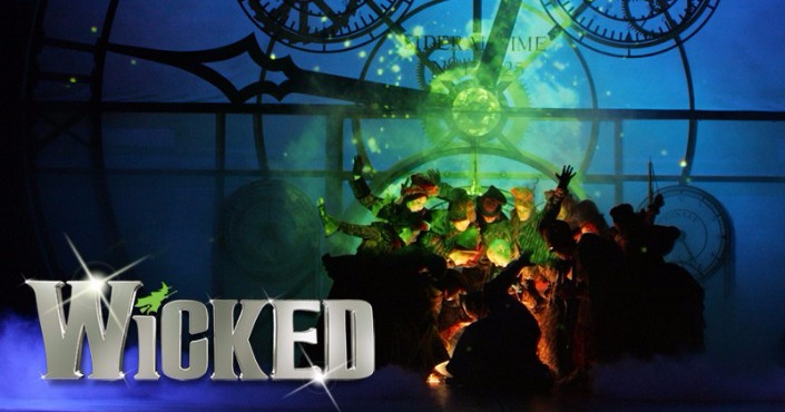 Wicked VIP ( Backstage walckthrough)