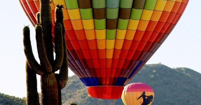 Hot Air Balloon Private Flight
