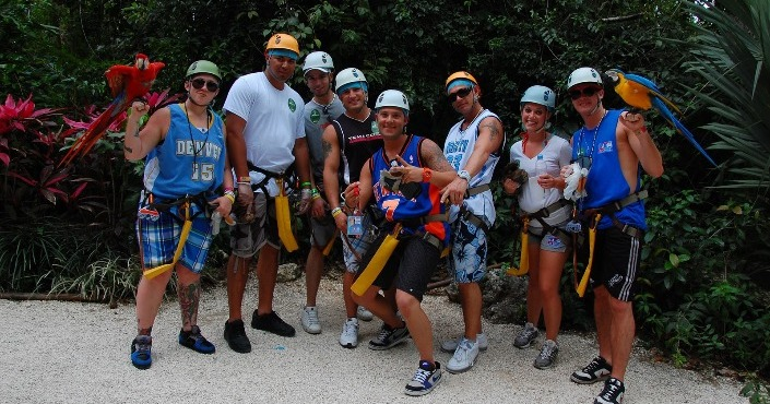Extreme Canopy Adventure Cancun