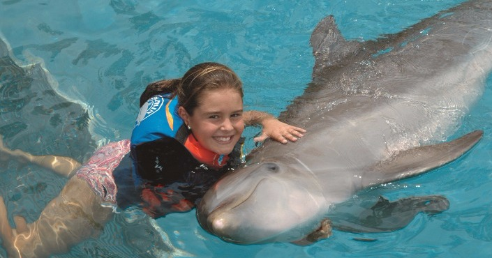 Dolphin Swim Adventure in Punta Cana